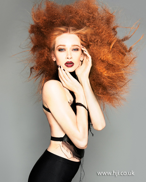 Brian Gallagher Scottish Hairdresser of the Year 2013 Collection Pic 2
