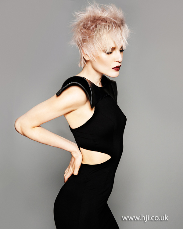 Brian Gallagher Scottish Hairdresser of the Year 2013 Collection Pic 3