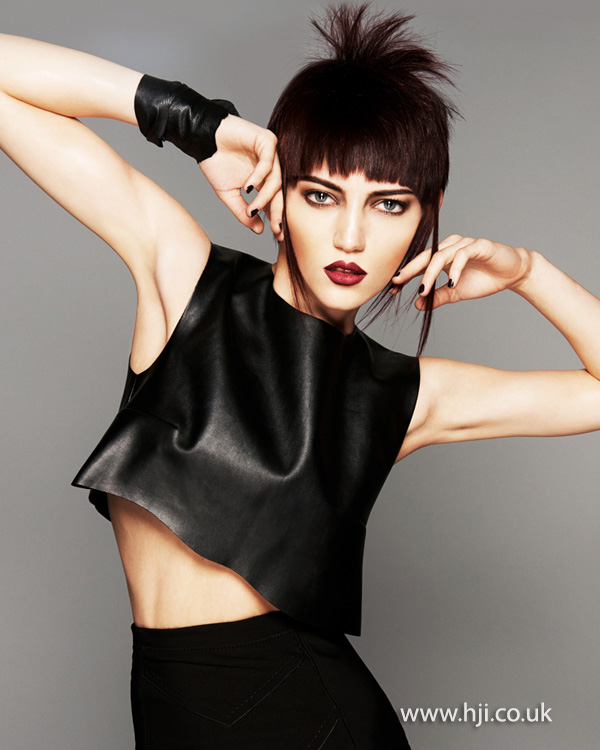Brian Gallagher Scottish Hairdresser of the Year 2013 Collection Pic 4