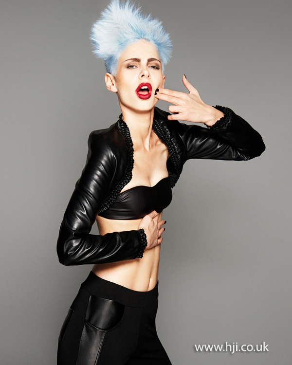 Brian Gallagher Scottish Hairdresser of the Year 2013 Collection Pic 5