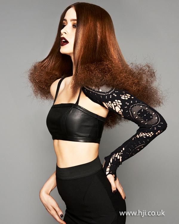 Brian Gallagher Scottish Hairdresser of the Year 2013 Collection Pic 6