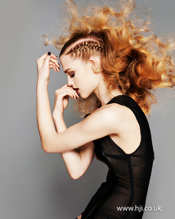 Brian Gallagher Scottish Hairdresser of the Year 2013 Collection Pic 8