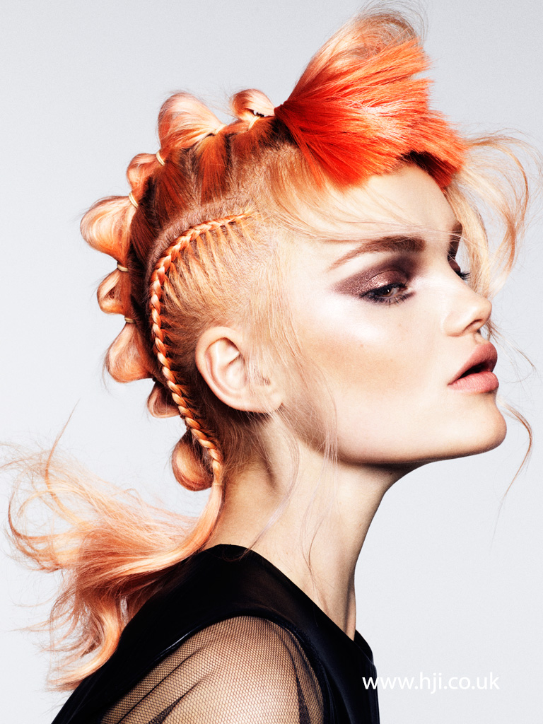 Cos Sakkas London Hairdresser of the Year 2015 Collection pic 4