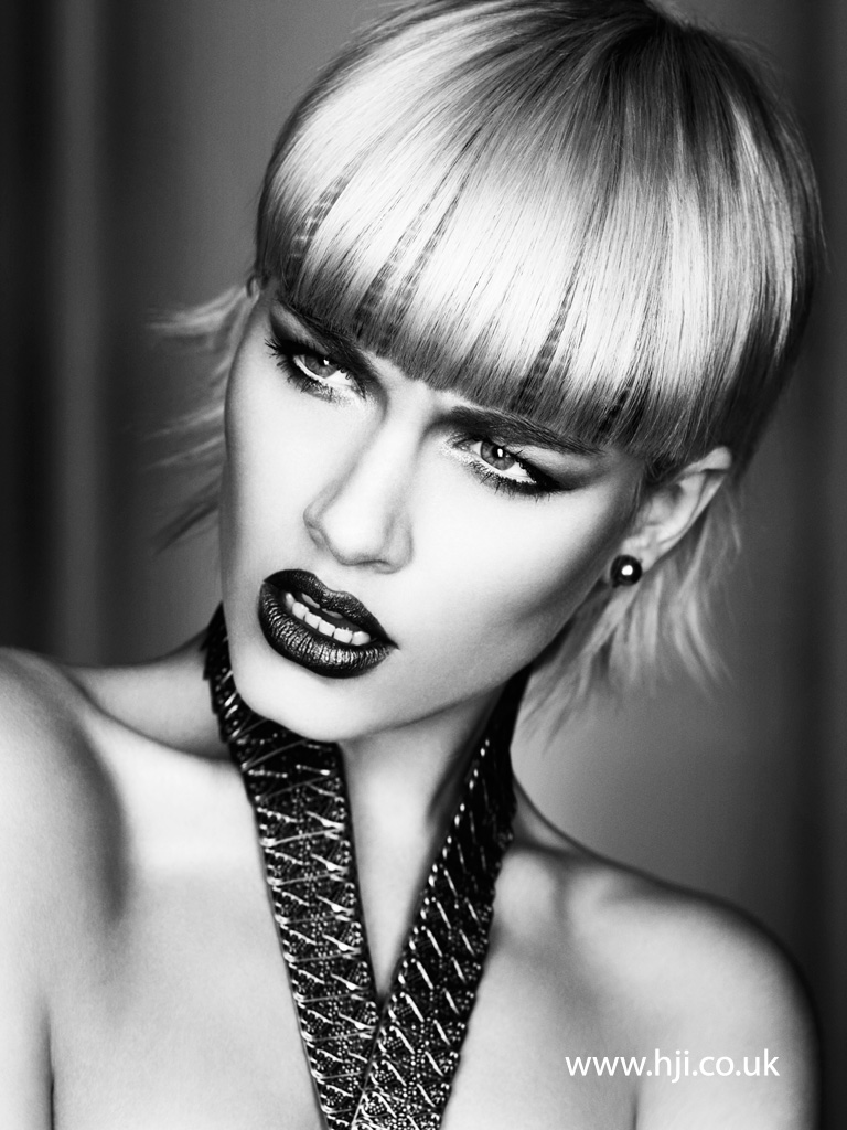 Caroline Sanderson and Claire McIntyre Scottish Hairdresser of the Year 2015 Collection Pic 6