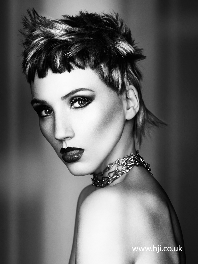 Caroline Sanderson and Claire McIntyre Scottish Hairdresser of the Year 2015 Collection Pic 8