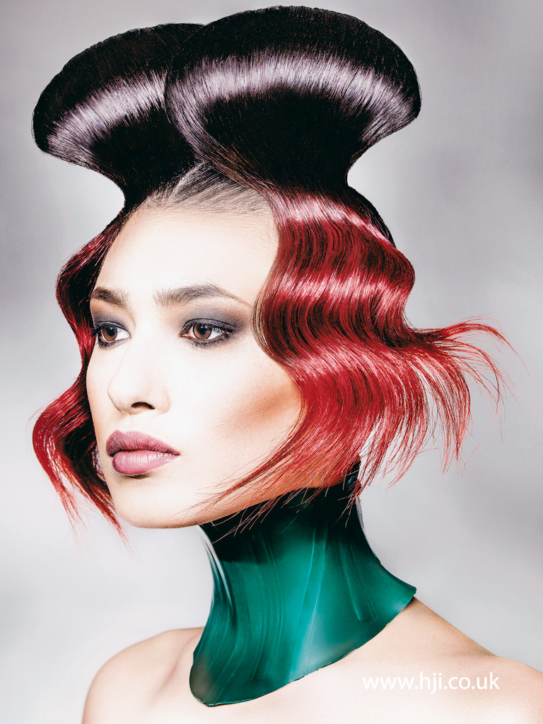 Robert Masciave Southern Hairdresser of the Year 2015 Colleciton Pic 1