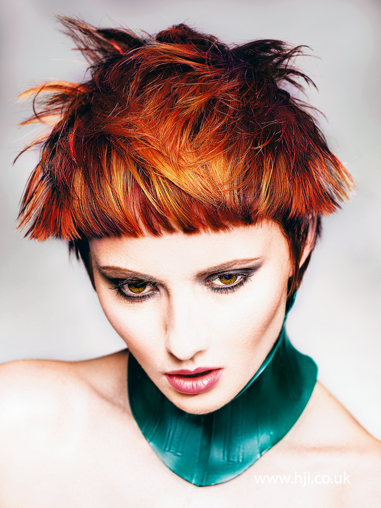 Robert Masciave Southern Hairdresser of the Year 2015 Colleciton Pic 2