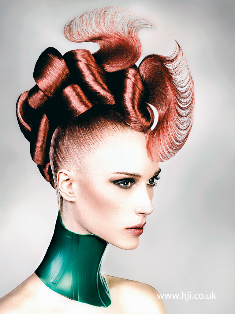 Robert Masciave Southern Hairdresser of the Year 2015 Colleciton Pic 7