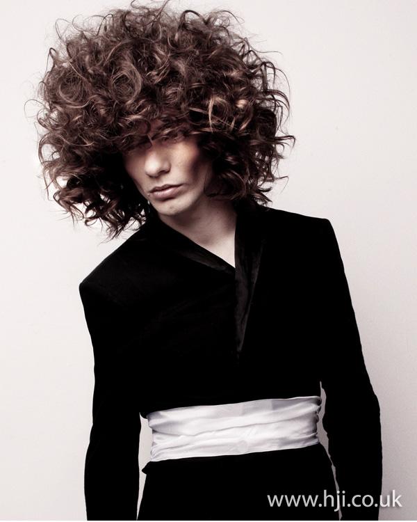 Jamie Stevens Men's Hairdresser of the Year 2010 pic 2
