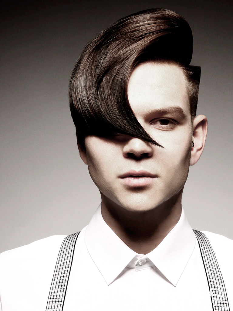 Jamie Stevens Men's Hairdresser of the Year 2014 Collection Pic 5