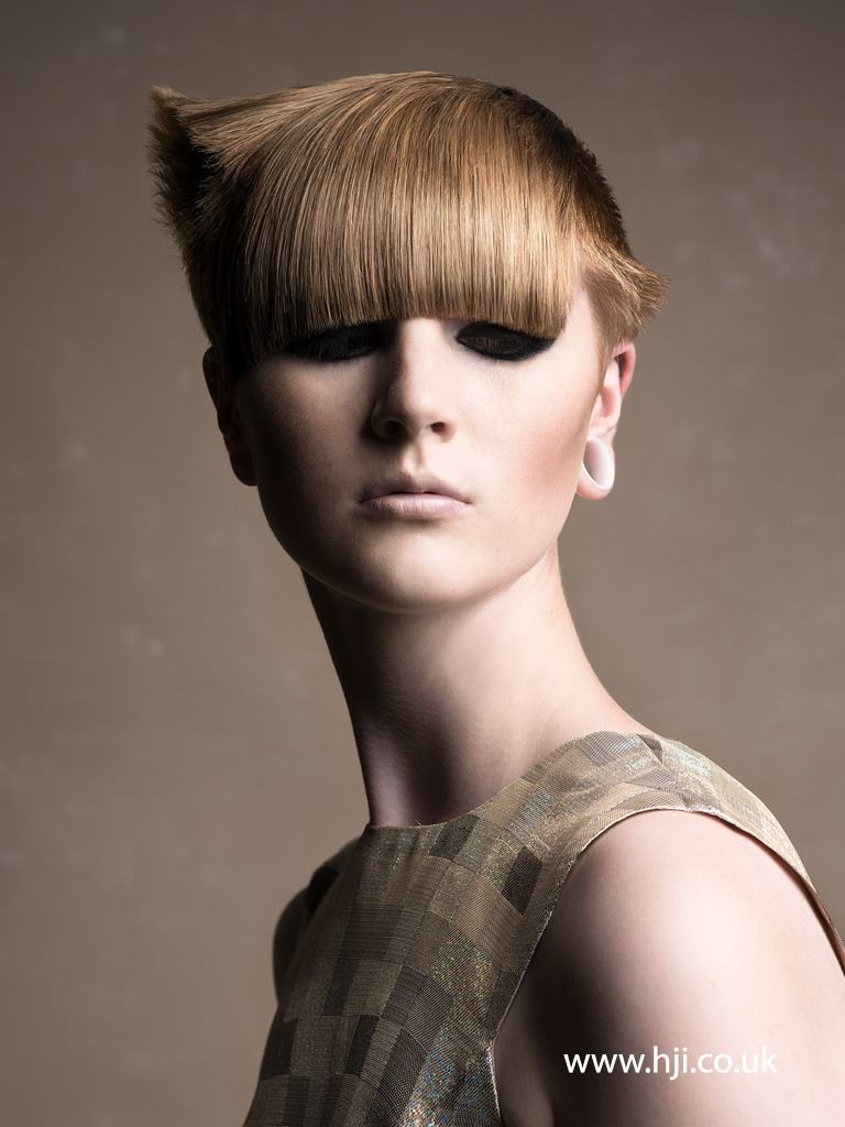 Brent Barlow and Rosie Binns North Western Hairdresser of the Year 2014 Collection pic 7