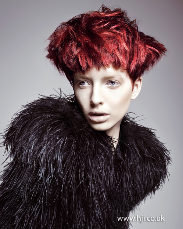 Richard Mannah London Hairdresser of the Year 2011 Collection pic 3