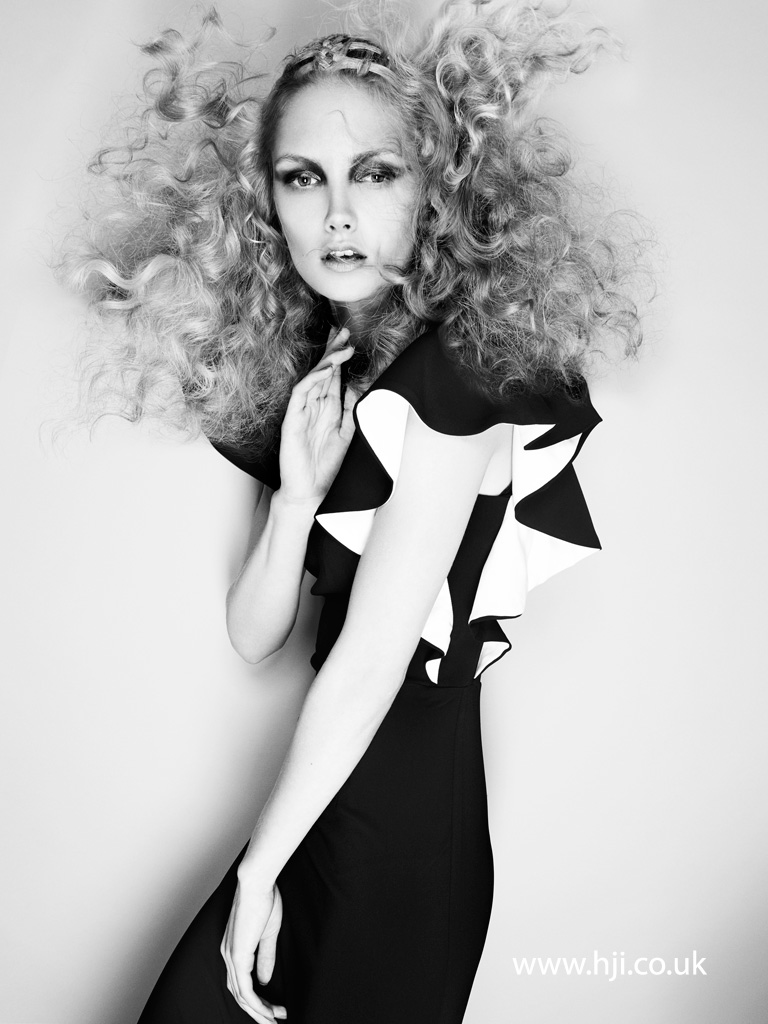 Philip Bell Scottish Hairdresser of the Year 2014 Collection Pic 4