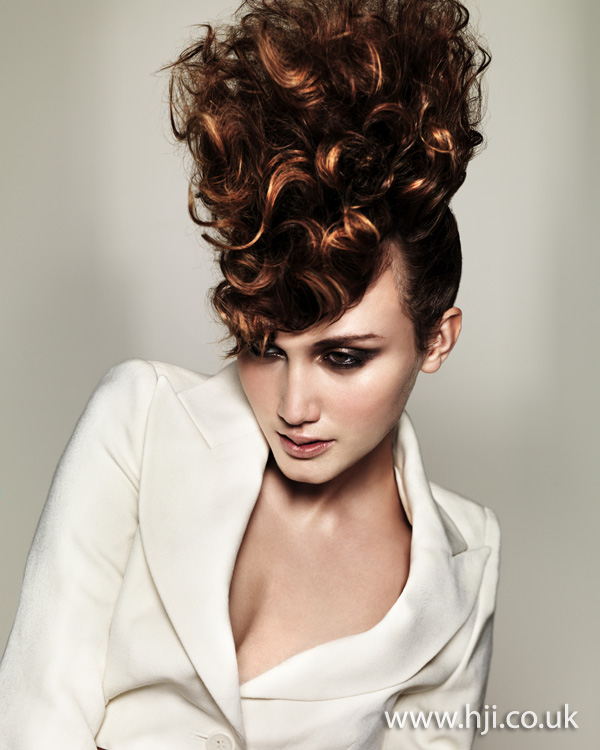 Sean Tetlow Midlands Hairdresser of the Year 2011 Colleciton Pic 5