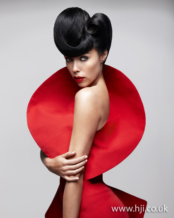 Marcello Moccia North Western Hairdresser of the Year 2011 Collection pic 2