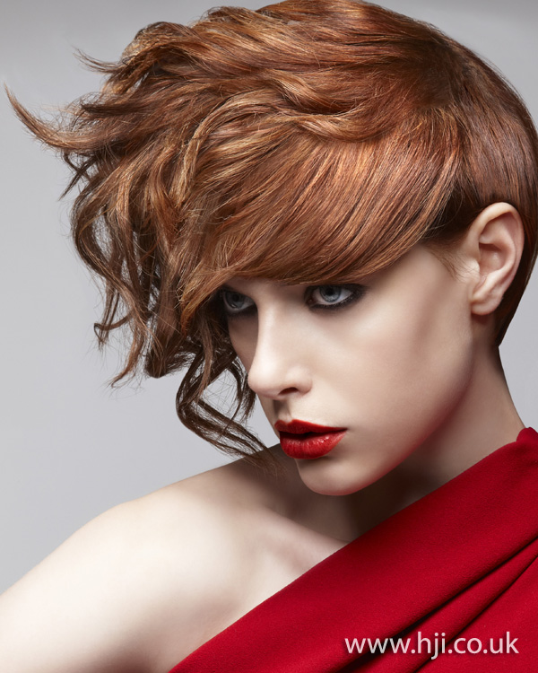 Marcello Moccia North Western Hairdresser of the Year 2011 Collection pic 3