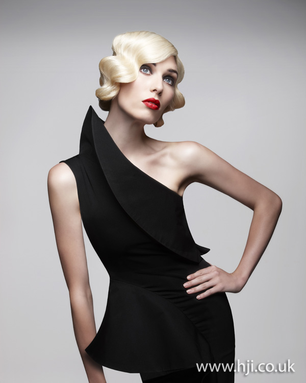 Marcello Moccia North Western Hairdresser of the Year 2011 Collection pic 6