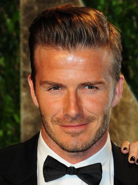 David Beckham - quiff
