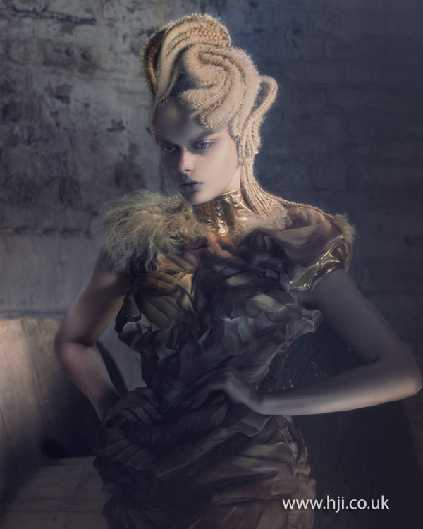 2012 Avant Garde Hairdresser of the Year collection pic 1