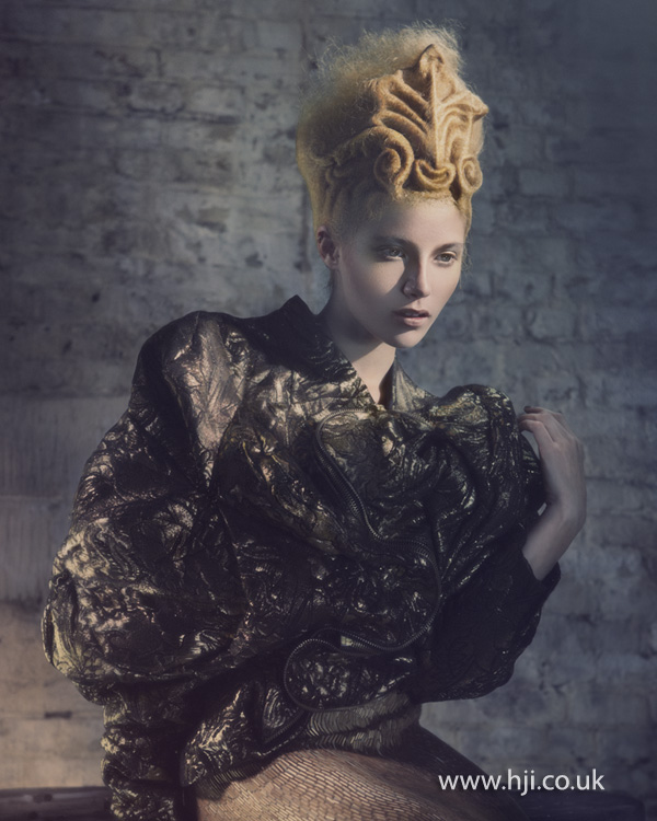 2012 Avant Garde Hairdresser of the Year collection pic 3