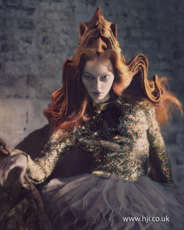 2012 Avant Garde Hairdresser of the Year collection pic 4
