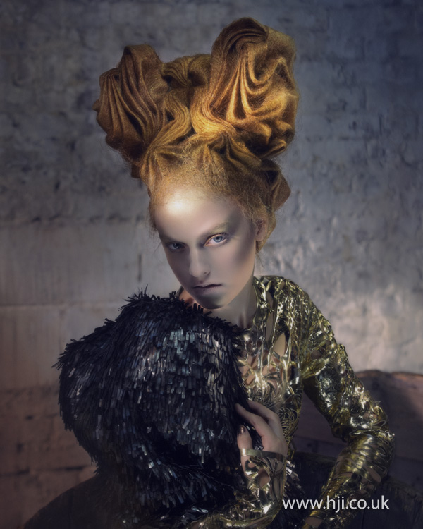 2012 Avant Garde Hairdresser of the Year collection pic 6