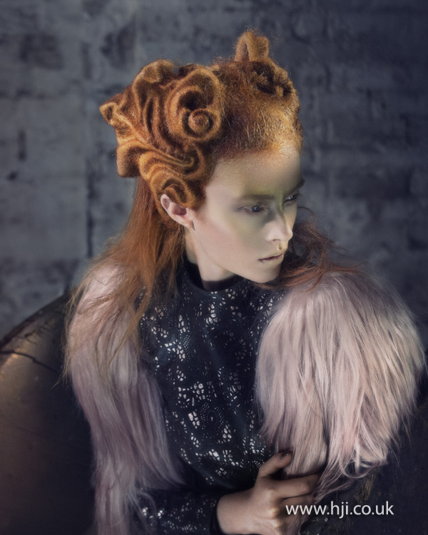 2012 Avant Garde Hairdresser of the Year collection pic 8