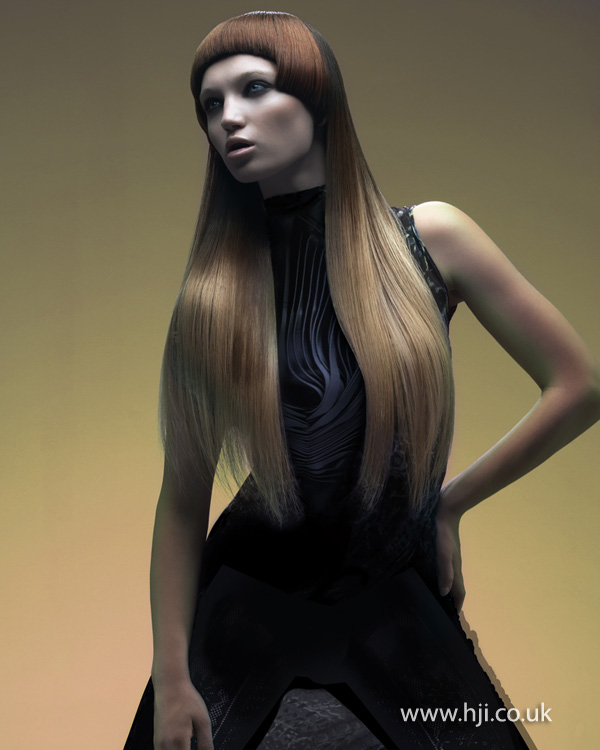 Tina Fahey London Hairdresser of the Year 2012 Collection pic 3