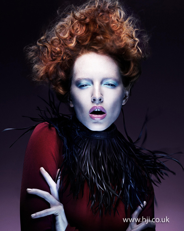 Kevin Kahan Northern Ireland Hairdresser of the Year 2012 Colleciton Pic 2