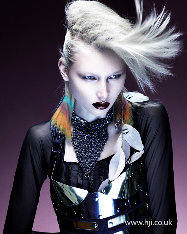 Kevin Kahan Northern Ireland Hairdresser of the Year 2012 Colleciton Pic 4