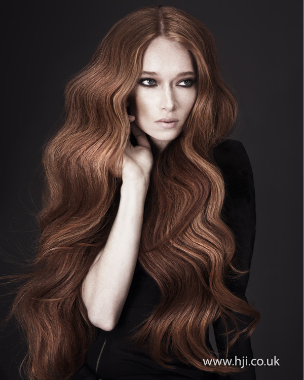 Kay McIntyre Scottish Hairdresser of the Year 2012 Collection Pic 1