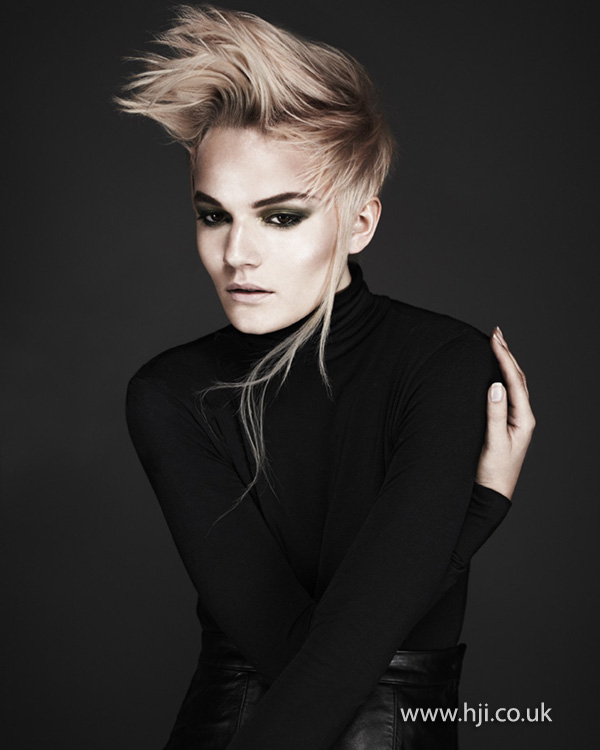 Kay McIntyre Scottish Hairdresser of the Year 2012 Collection Pic 2