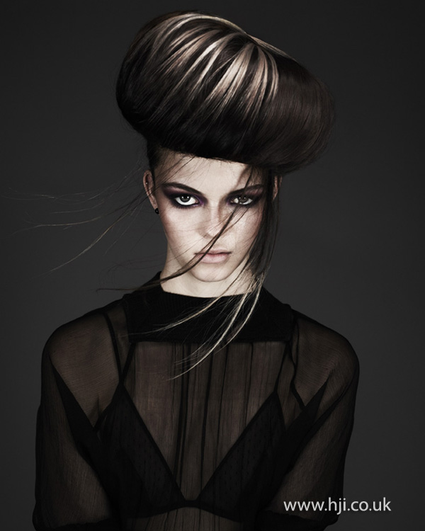 Kay McIntyre Scottish Hairdresser of the Year 2012 Collection Pic 3
