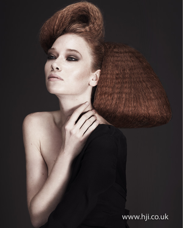 Kay McIntyre Scottish Hairdresser of the Year 2012 Collection Pic 7