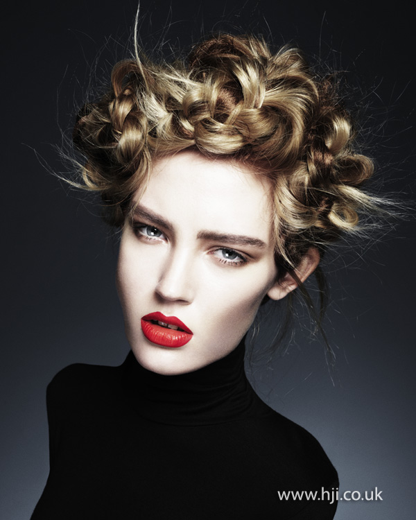 Ken Picton Wales and South West Hairdresser of the Year 2012 Collection Pic 5