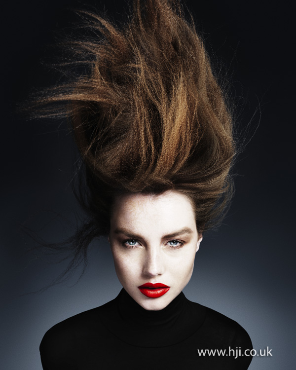 Ken Picton Wales and South West Hairdresser of the Year 2012 Collection Pic 6