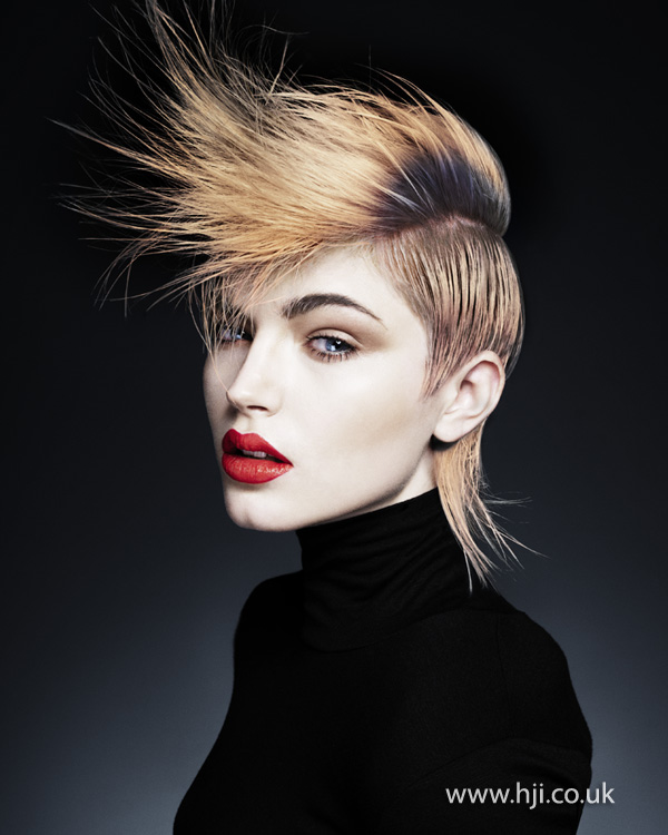 Ken Picton Wales and South West Hairdresser of the Year 2012 Collection Pic 7