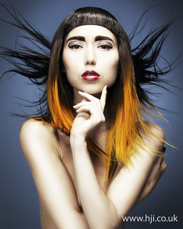 Ryan Nicoletti-Dowd Southern Hairdresser of the Year 2012 Colleciton Pic 7