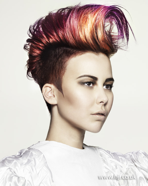 Marcus King North Eastern Hairdresser of the Year 2012 Colleciton Pic 7