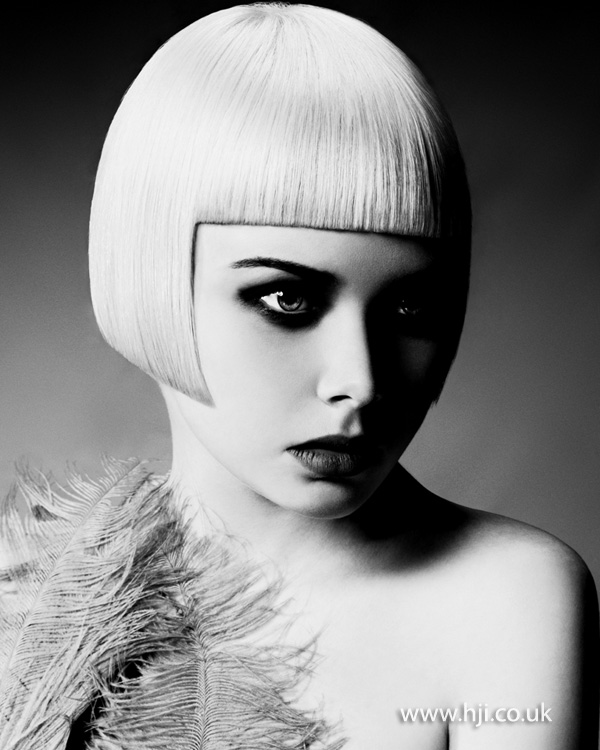 Sarah and Adrian Bowron Midlands Hairdresser of the Year 2012 Colleciton Pic