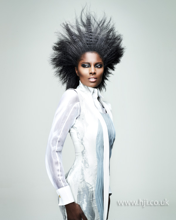 Craig Chapman Afro Hairdresser of the Year 2012