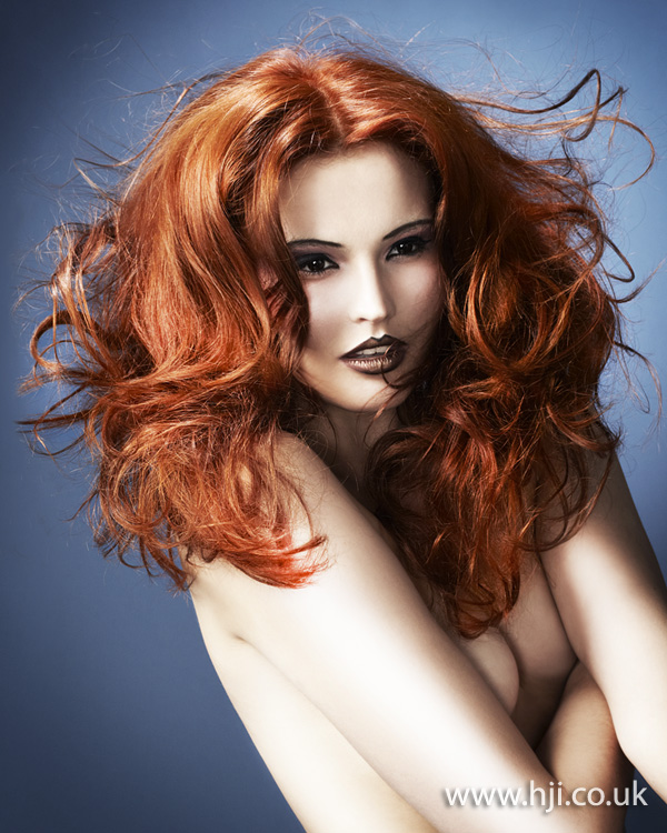 Ryan Nicoletti-Dowd Southern Hairdresser of the Year 2012 Colleciton Pic 4