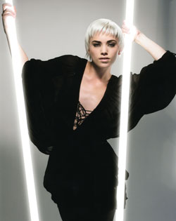 Clive Boon and Kelly Smith Eastern Hairdresser of the Year 2008 Collection pic 1