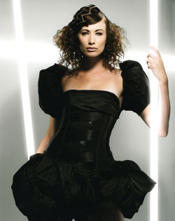Clive Boon and Kelly Smith Eastern Hairdresser of the Year 2008 Collection pic 3