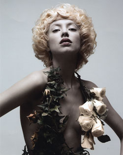 Noel Burns Northern Ireland Hairdresser of the Year 2007 Colleciton Pic