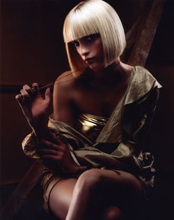 Tracey Devine Scottish Hairdresser of the Year 2007 Collection Pic
