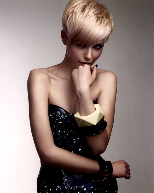 Emma Stevens Midlands Hairdresser of the Year 2008 Colleciton Pic 4