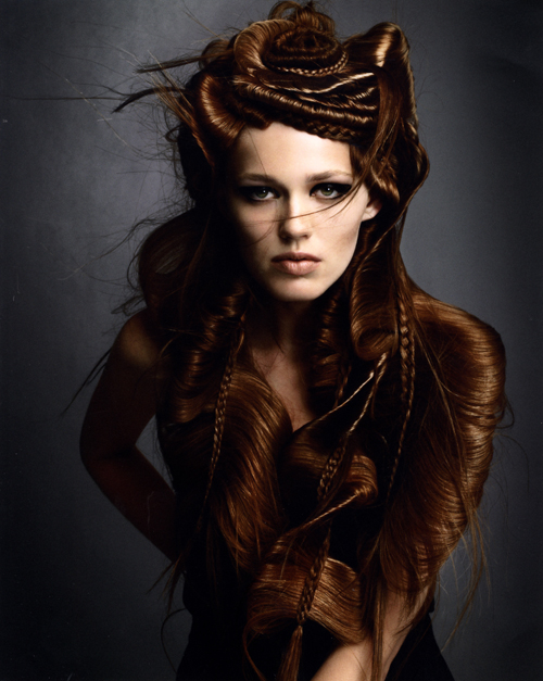 Avant Garde Hairdresser of the Year 2008 collection pic 2
