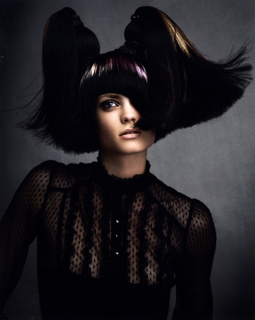 Avant Garde Hairdresser of the Year 2008 collection pic 4