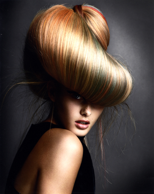 Avant Garde Hairdresser of the Year 2008 collection pic 5